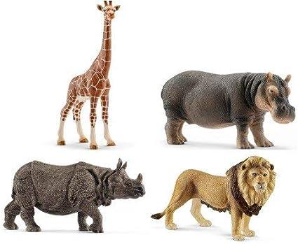 Schleich Indian Rhinocéros Rhino Wild Life Figure Toy Figure 14816