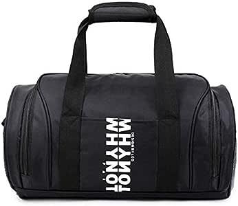 حقيبة دفل قماش لل للجنسين,اسود - حقائب دفل للنشاطات الرياضية والخارجية