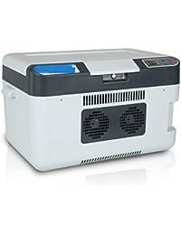 SL&BX Car refrigerator,Refrigeration digital display car12v universal mini car small refrigerator car dual-use refrigerator-A 42x29x30cm(17x11x12inch)