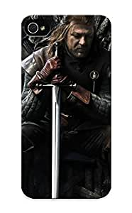Case For Htc One M9 Cover Case Design - Eco-friendly Packaging(ned Stark Game Of Thrones)