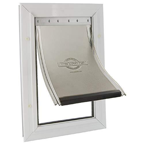 PetSafe Staywell - Puerta para mascotas con marco de aluminio, X-Large (660 ml)