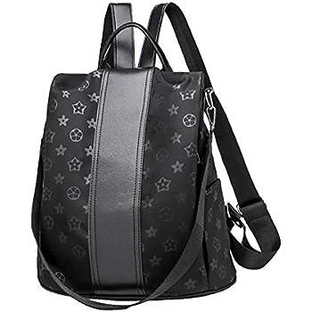 c24e843e597d Amazon.com: Women Leather Backpack Purse Ladies Waterproof Fashion ...