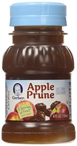 Gerber Juice Apple Prune pack