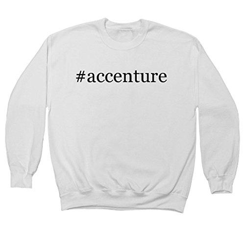 accenture-hashtag-mens-crewneck-fleece-sweatshirt-white-xxx-large