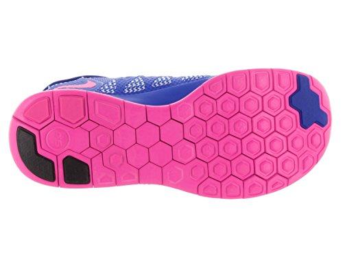 Nike Free 5.0 (GS) Unisex-Kinder Laufschuhe Hyper Cobalt/Deep Royal Blue/White/Hyper Pink