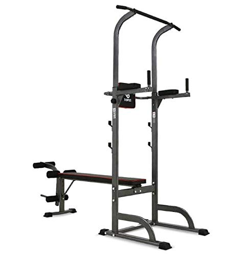 H-TRAINING ベンチプレス BENCH PRESS 懸垂 PULL UP レッグカール LEG EXTENSION 腹筋 連携 有酸素運動 トレーニング 筋力アップ 肉体改造 ダイエット BS Smith Premium Bench(海外直送品)   B07KNN7BP3