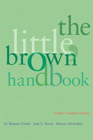 The Little, Brown Handbook, 4th Edition