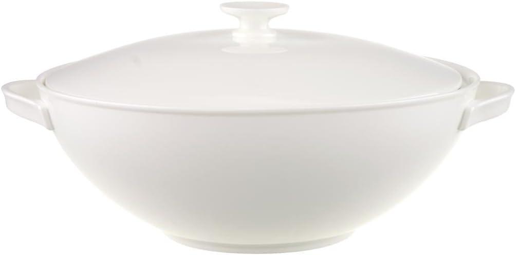 Villeroy Boch Anmut 2 20 Litre Covered Vegetable Bowl White Amazon Co Uk Kitchen Home