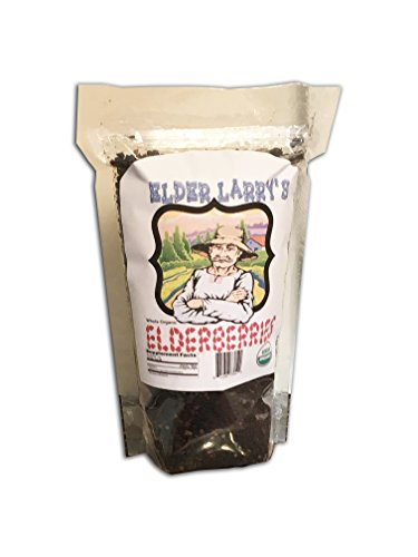 Elder Larry's Dried Elder Berries Whole Organic - 1 lb