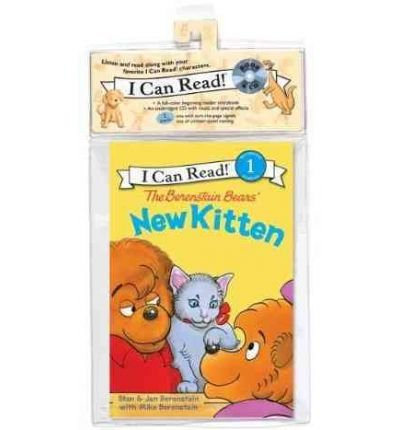 The Berenstain Bears' New Kitten Book and CD: The Berenstain Bears' New Kitten Book and CD (I Can Read Book 1) (CD-Audio) - Common