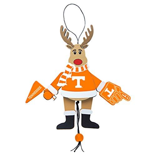 NCAA Tennessee Volunteers Wooden Cheer Ornament