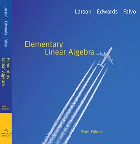 student solutions manual for larson flavo s elementary linear rh amazon com
