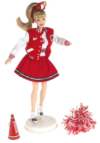 Barbie Coca Cola Cheerleader -