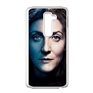 LG G2 Cell Phone Case White Game Of Thrones Catelyn Stark BNY_6791475