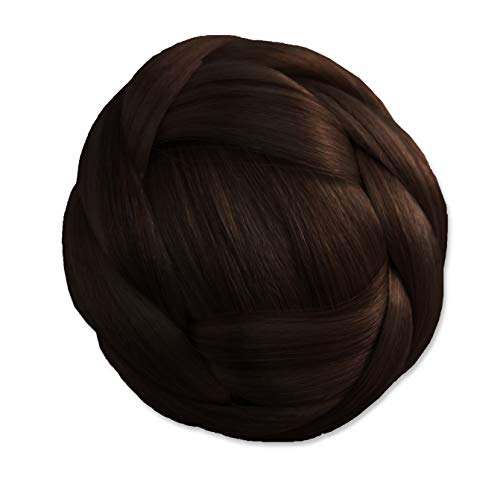 Mia Clip n Bun Instant Synthetic Hair Dark Color Measures product image