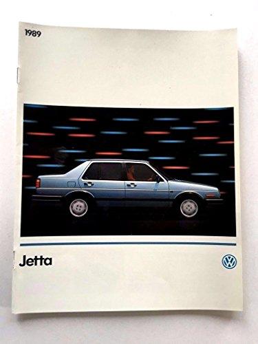 Volkswagen Jetta Catalog - 1989 VW Volkswagen Jetta 16-page Original Car Sales Brochure Catalog - Carat GLI