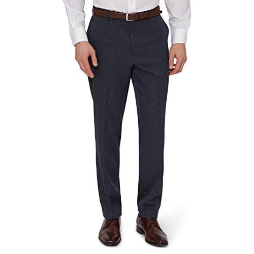 abfac2585aaa9 50%OFF Moss Esq. Men s Indigo Semi Plain Suit Pants - s-c-r-a-p-inc.org