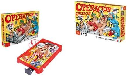 Juegos Infantiles Hasbro - Operación 40198175 (versión española): Amazon.es: Juguetes y juegos