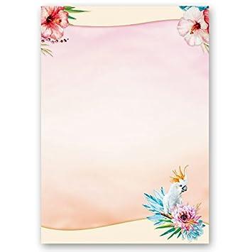 Motivpapier KAKADU 20 Blatt DIN A4 90g//m²