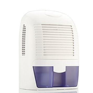 1500ml Deshumidificadores portátiles Mini para el secador de Aire para el hogar Baño húmedo, Cocina, Dormitorio, Oficina y Garaje, etc.: Amazon.es: Hogar