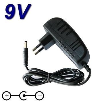 Top Cargador * Adaptador alimentación Cargador 9 V para Teclado arrangeur Roland E-15: Amazon.es: Electrónica