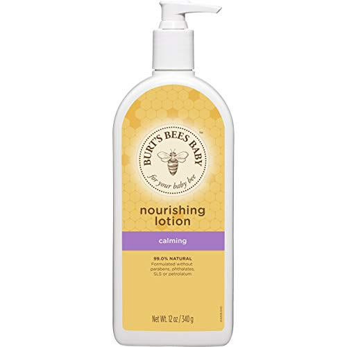 Burt's Bees Baby Nourishing Lotion, Calming Baby Lotion - 12 Ounce Bottle