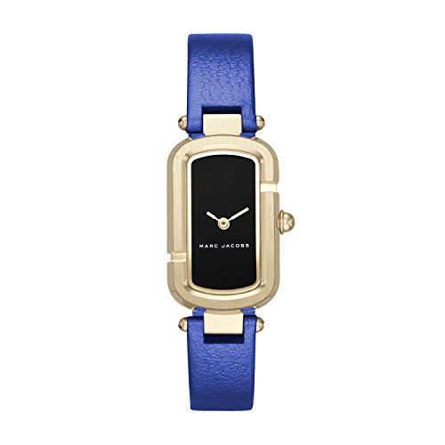 Marc Jacobs Women's The Jacobs Metallic Blue Leather Watch - MJ1501 Wsi Blue Shorts