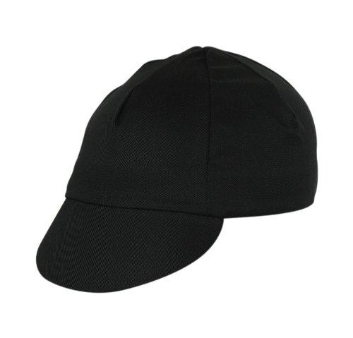 Pace Traditional Cycling Cap (Black) (Black Cycling Cap)