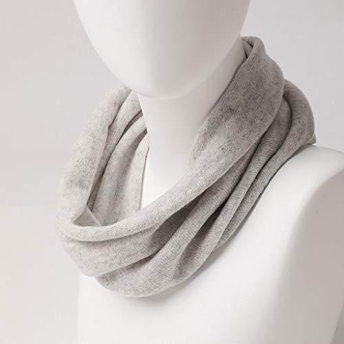 Mei colore E Creativo Chiaro Collare Grigio Sciarpa Solido Decorativo Inverno Colore Autunno Inverno Primario Caldo gqgwHrP