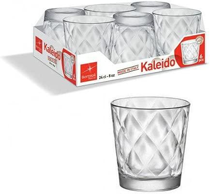 Bormioli 128756-v42/Kaleido Vidrio de Agua 24/cl Juego de 6