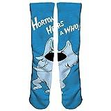 KUGUANG Crazy Socks Horton Hears A Who 3D Crew Socks