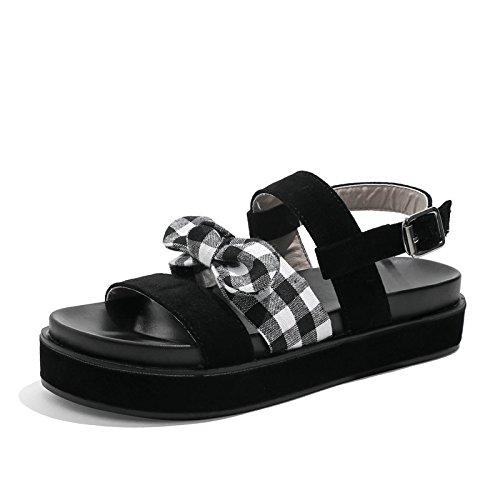 bohémien moda EU stile EU 39 YMFIE alla Sandali di sandali estivi antiscivolo casual 37 A6FqwR