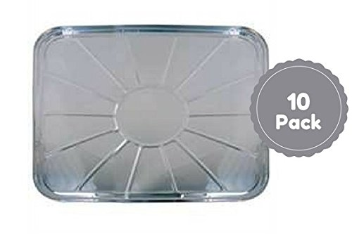 Disposable Aluminum Foil Oven Liners Set Of 10 Count 18.5 X 15.5 ()