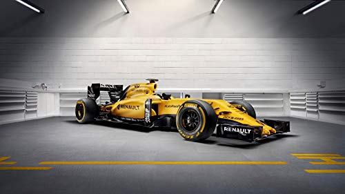 Renault RS16 Formula 1 Car Poster Print (24x36 Inches)