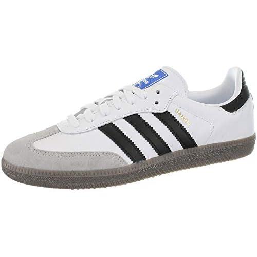 chollos oferta descuentos barato Adidas Samba OG Zapatillas de Gimnasia para Hombre Blanco Footwear White Core Black Clear Granite 0 44 2 3 EU