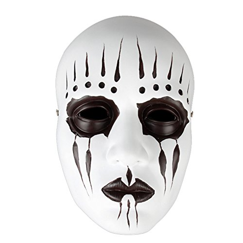 XCOSER Joey Jordison Mask Props Costume Accessories for Adult Halloween (Chris Fehn Mask)
