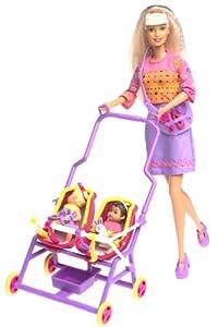 Amazon Com Barbie Amp Krissy Stroll N Play 3 In 1 Fun