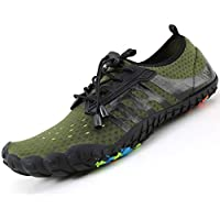 LINGTOM Mens Womens Aqua Water Shoes Beach Pool Running Hiking Shoes Quick Dry Barefoot Sports Exercise for Walking Swimming Diving Surf Yoga