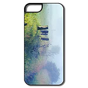 PTCY IPhone 5/5s Design Vintage Fog Field