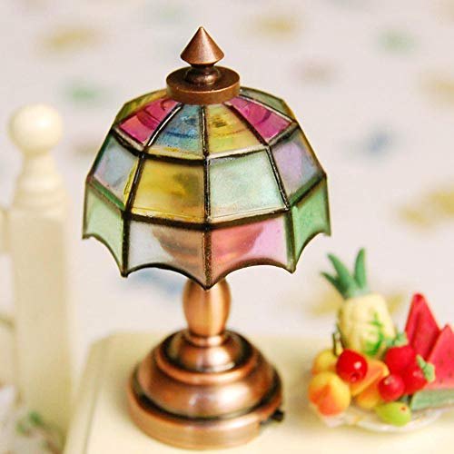 Used, Goldblue 1/12 Dollhouse Miniature Shape Lampshade LED for sale  Delivered anywhere in USA