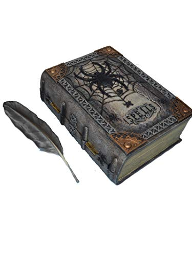 Animated Spell Book with Feather]()