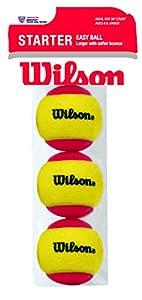 Wilson Starter Ball 3 Pack, Yellow, 6, WRT137001