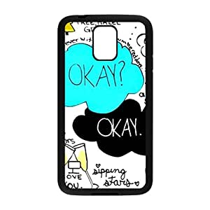 JIANADA The Fault in Our Stars Okay? Okay Printed Cell Phone Case for Samsung Galaxy S5