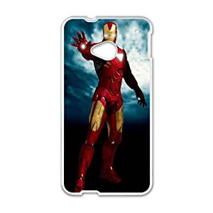 Iron Man Movie 2 3 HTC One M7 Cell Phone Case White TPU Phone Case SY_735735