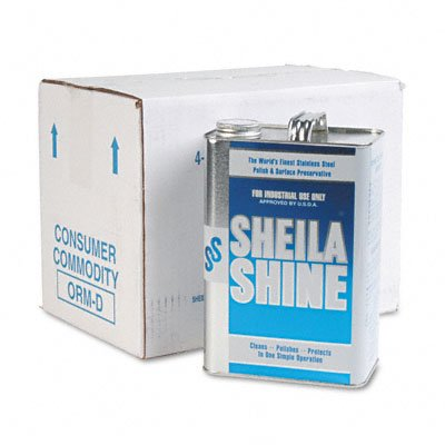 Sheila Shine SS-128 Stainless Steel Polish Oil Based