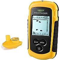 Lucky Wireless Fish Finder Portable Handheld Fishfinder...
