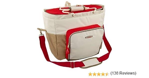 CAMPINGAZ 205538 - Nevera portátil (Beige, Rojo): Amazon.es: Ropa y accesorios