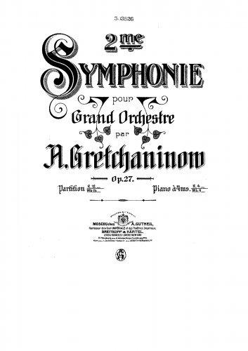 Read Online Symphony No.2 - Score pdf epub
