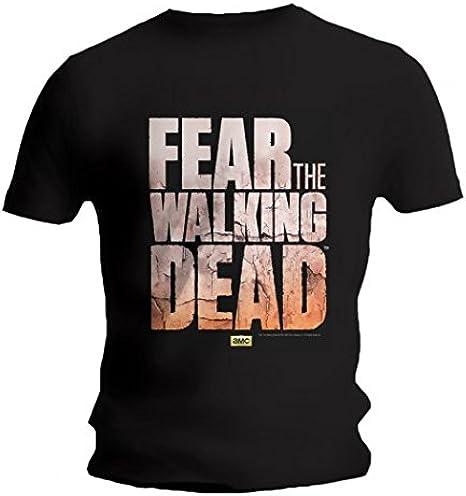 The Walking Dead Fear Camiseta - Logo: Amazon.es: Ropa y accesorios