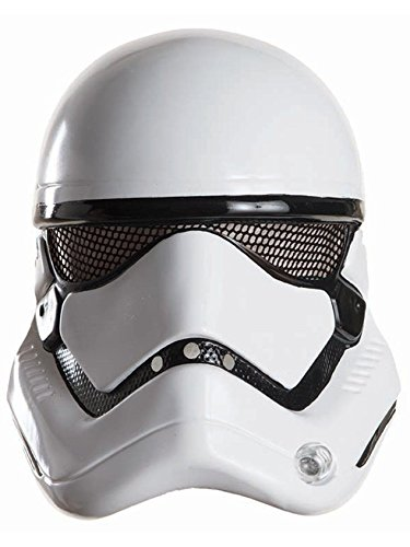 Star Wars: The Force Awakens Adult Stormtrooper Half Helmet, One -